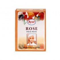 Ayur Herbal Rose Face Pack 100g