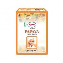 Ayur Herbal Papaya Face Pack 100g