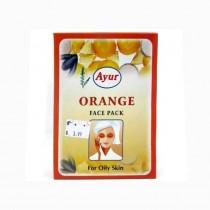 Ayur Herbal Orange Face Pack For Oily Skin 100g