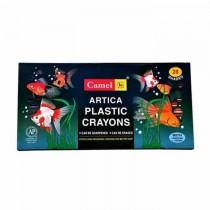 Camel Artica Plastic Crayons Extra Long 28 Shades
