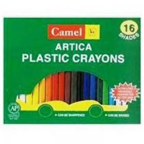 Camel Artica Plastic Crayons 12 Shades