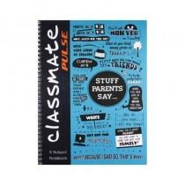Classmate Pulse 6 Subject Notebook Single Line (Spiral) 26.7 Cm X 20.3 Cm 300 Pages