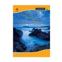 Classmate Exercise Book Size 24 Cm X 18 Cm Single Line-Interleaf 180 Pages