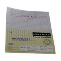 Classmate Project Paper Unruled 22 X 28 Cm