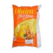 Dhara Refined Soyabean Oil 1ltr