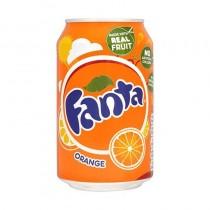 Fanta Orange Flavoured Can 330 Ml
