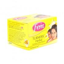 Fem turmeric herbal fairness creme bleach 8g