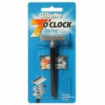 Gillette 7 O'Clock Sterling Razor 1 Pc
