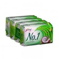 Godrej No.1 Soap Coconut & Neem 4x75