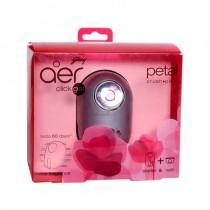 Godrej aer click gel petal crush pink car fragrance starter & refill 1 Pc