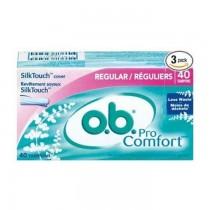 O.B. Pro Comfort For Average Flow Tampons/Regular 20Pcs