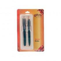 Rorito Gratz 207 Blue Ball Pens & Roller Pen 2 Pcs