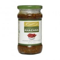 Sanjeev Kapoors Khazana Stuffed Red Chilli Pickle 250g