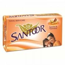 Santoor Sandal & Turmeric Soap 4 X 100 Gm