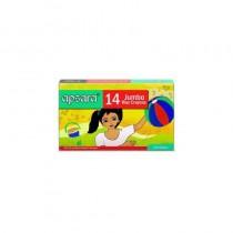 Apsara 14 Jumbo Wax Crayons 1 Pc