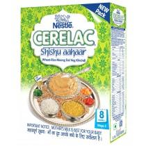 Nestle Cerelac Shishu Aahaar Wheat Rice Moong Dal Veg Khichidi Stage 2 - 300 gm