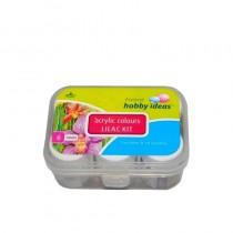 Fevicryl Acrylic Colors Lilac Kit 6 Shades X 60Ml