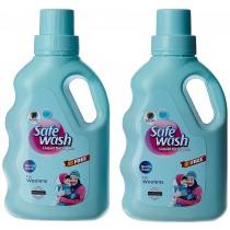 Wipro Safewash Liquid Detergent 1kg Buy 1 Get 1 Free