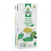 24 Mantra Organic Tulsi Green Tea Bags 25 Tea Bags
