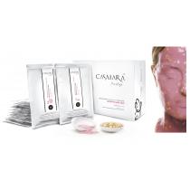 Casmara Sensitive Mask 1 Unit Peel Off Facial Mask 2040 Gel (100 ml) + Powder (25 gr)
