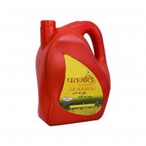 Patanjali Kachi Ghani Pure Mustard Oil (Jar) 5 lt