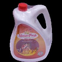 Nature Fresh Pure Kachi Ghani Mustard Oil 5ltr