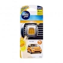 Ambi Pur Light Citrus Vent Clips Car Air Freshener 2 Ml