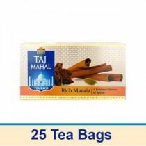 Taj Mahal Tea Bags - Rich Masala, 25 pcs