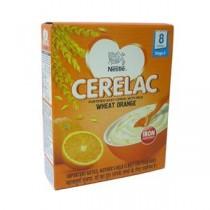 Nestle Cerelac - Wheat Orange (Stage 2), 300 gm Carton