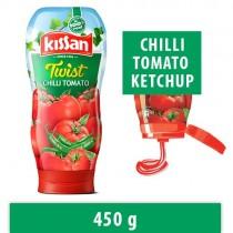 Kissan Squeezo Twist Chilli Tomato Ketchup, 465 gm